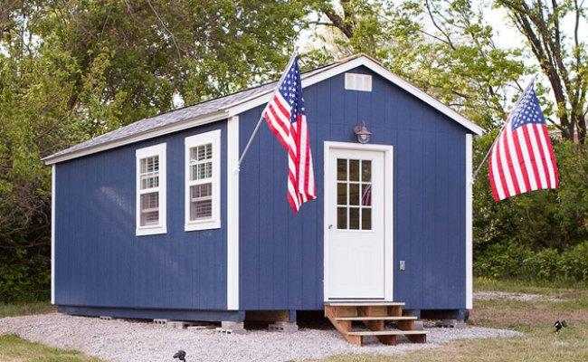 Tiny Home Village In Kansas City For Homeless Veterans