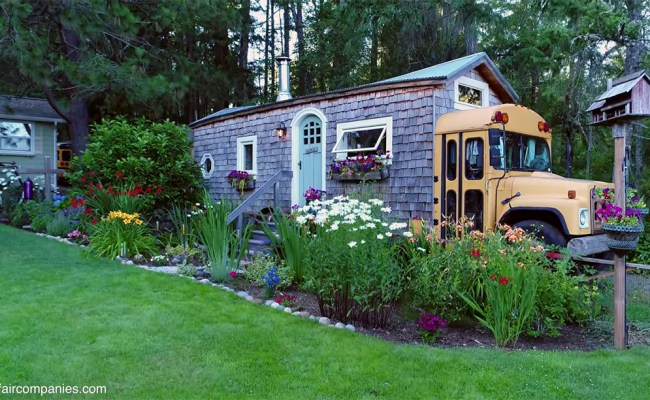 Extraordinary School Bus Tiny House With Shipping
