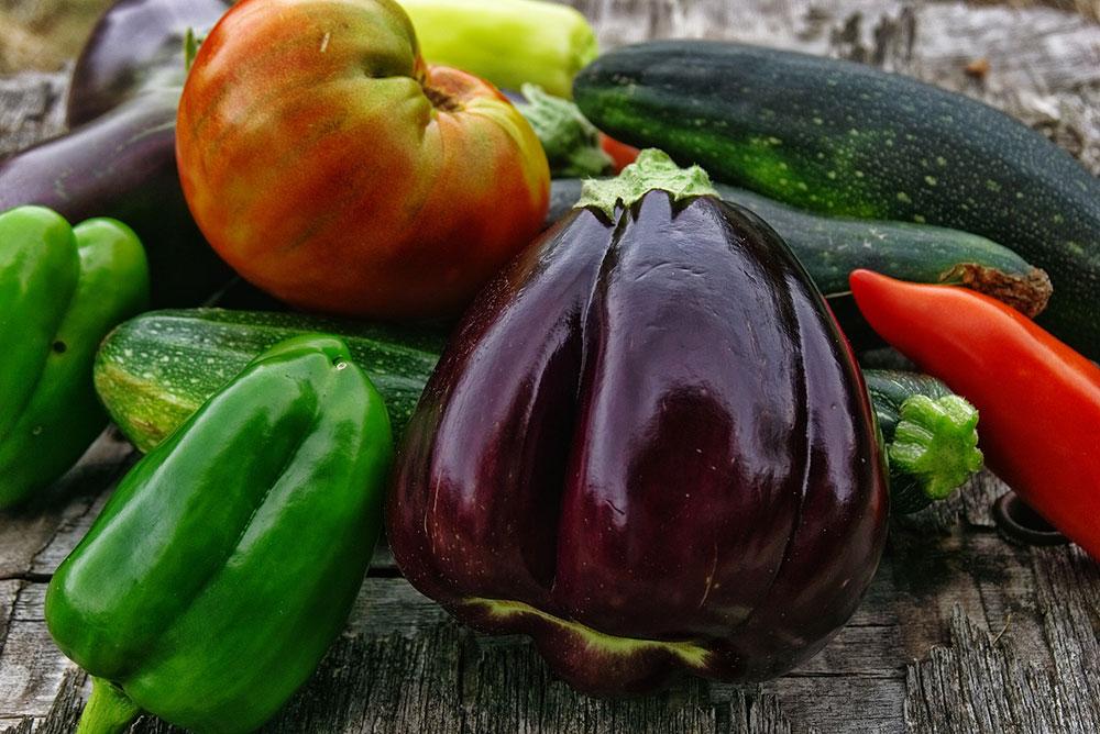 Storing homegrown vegetables