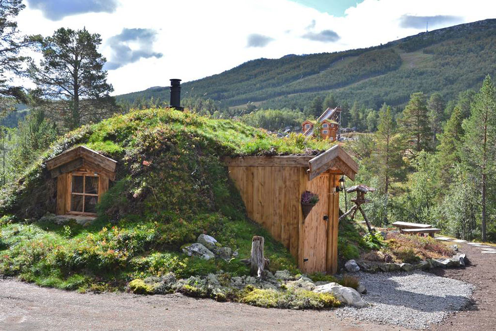 Hobbit tiny cabin