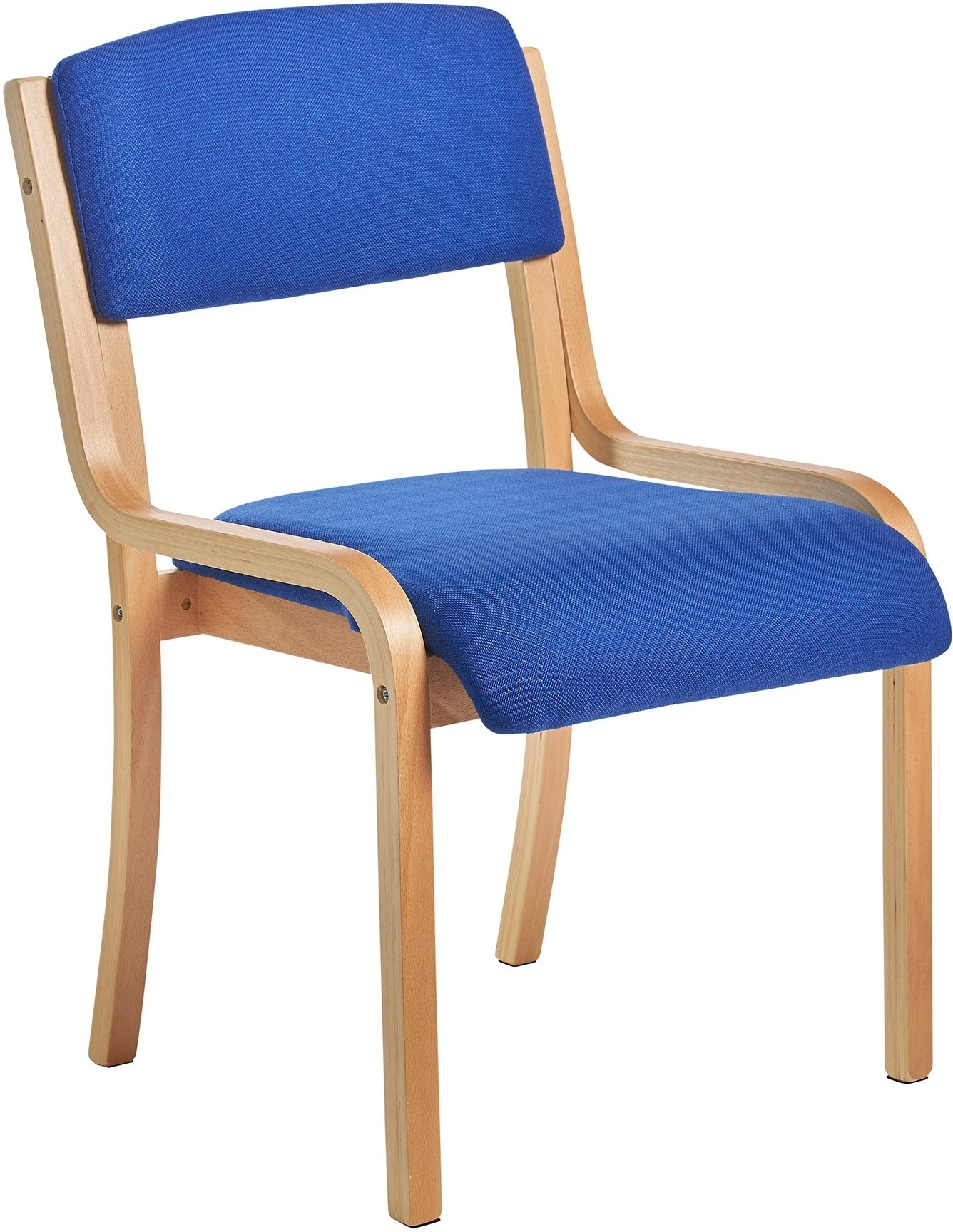 Bulk Chairs Gentoo Bulk Prague Wood Frame Conference Chair Without Arms