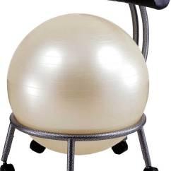 Desk Chair Exercise Ball Ladder Back Dining Ergonomic For Office