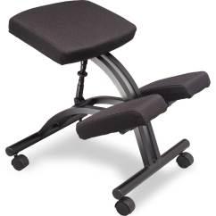 Ergonomic Work Chair Brown Leather Tub Homebase Kneeling Plans