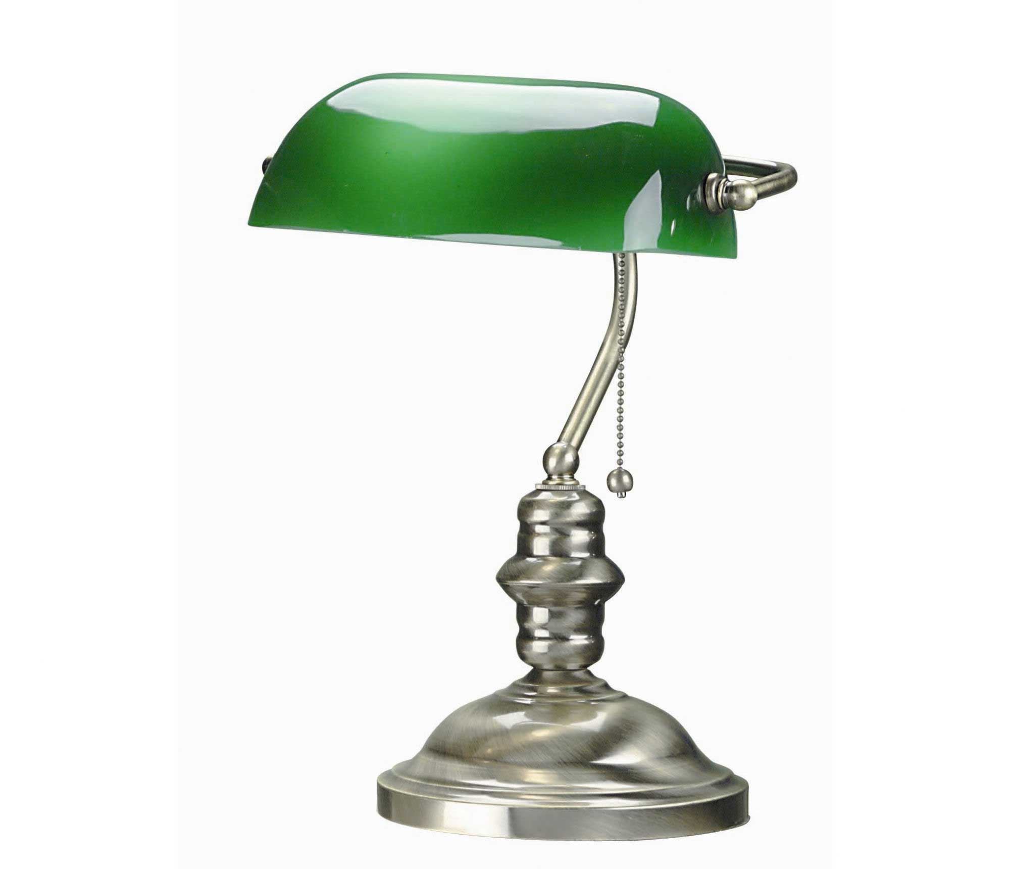 Bankers Desk Lamp for Replacement Shade