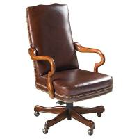 leather wood desk chairs | Office Furniture