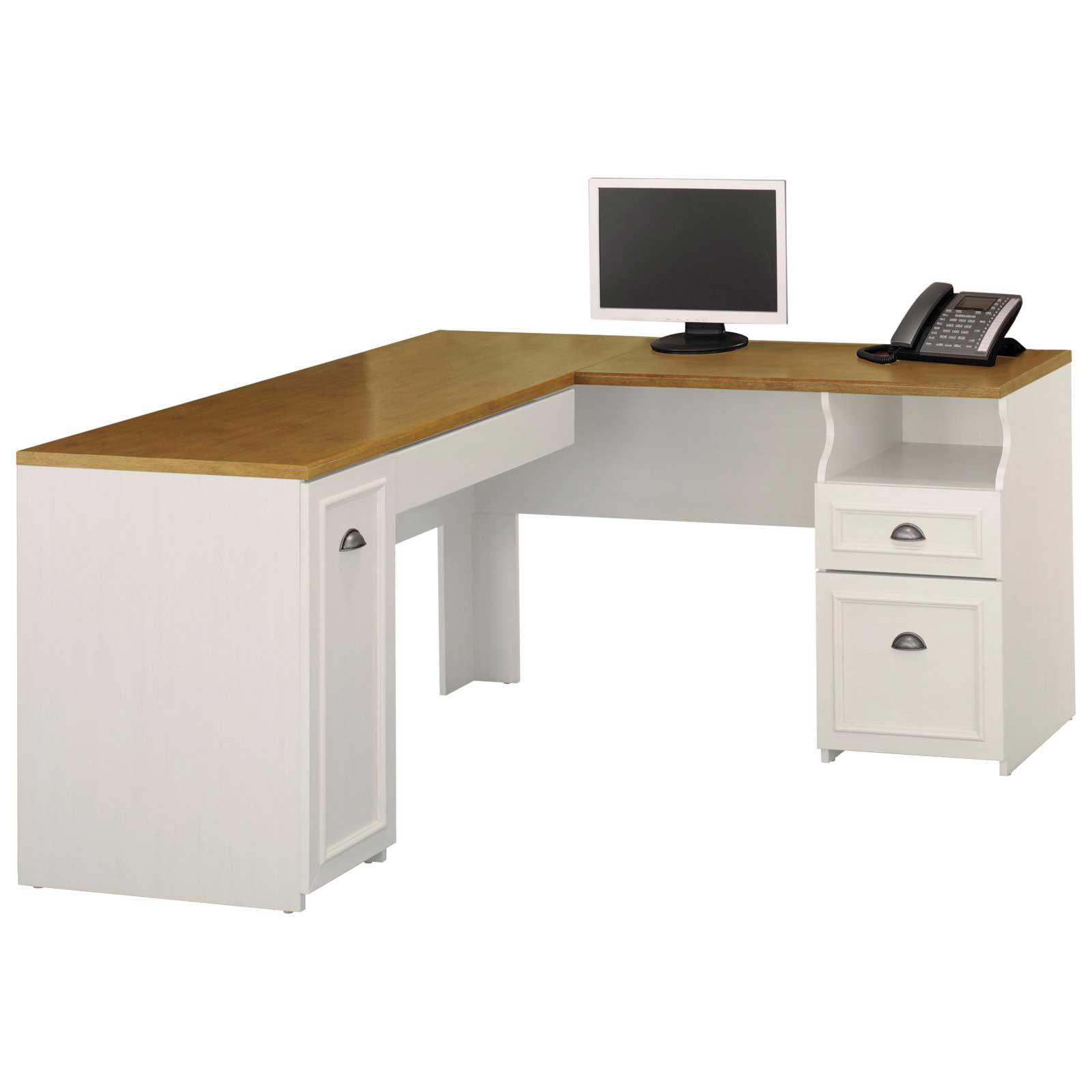bush fairview lshaped desk