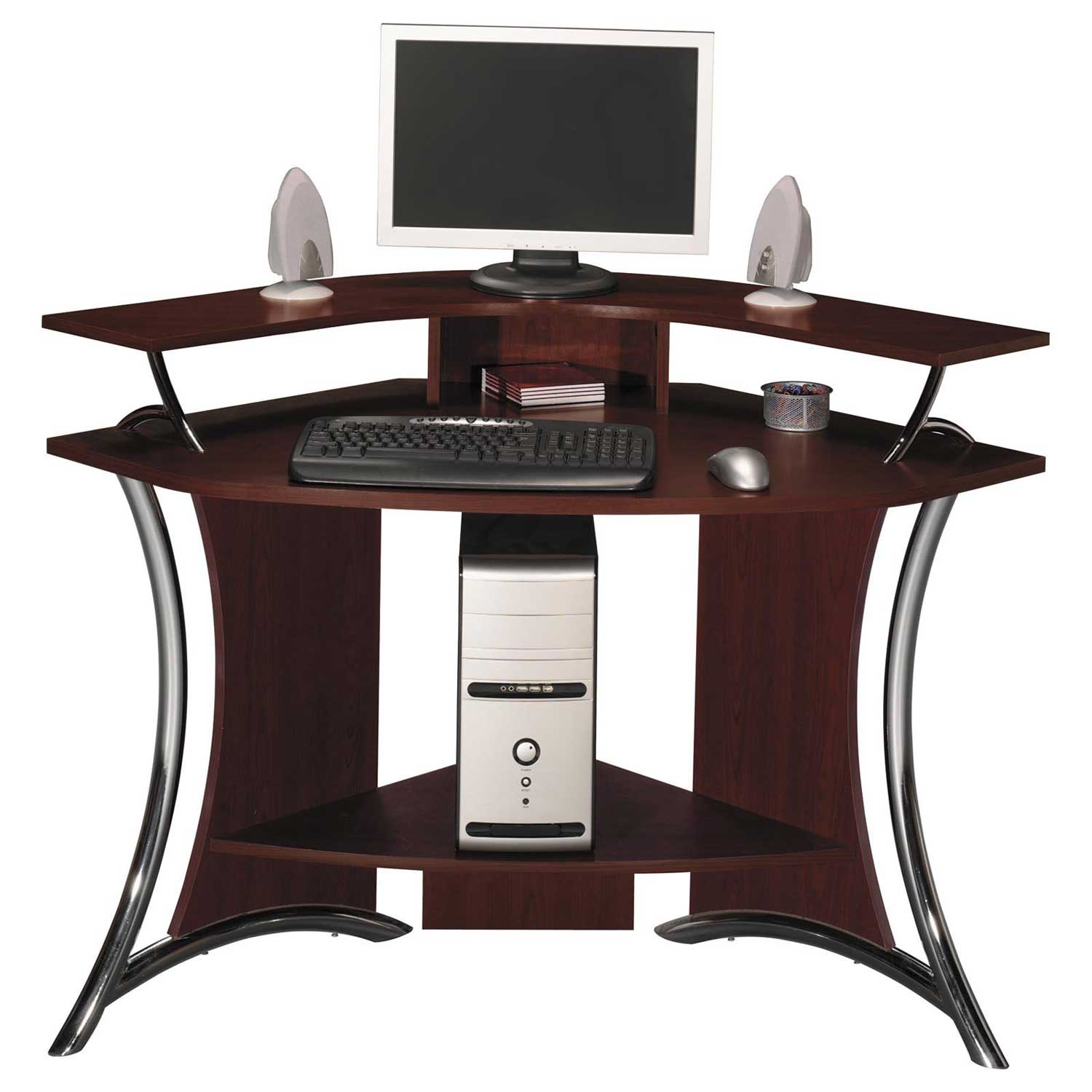all wood corner desk  Office Furniture