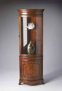 antique corner curio cabinet | Office Furniture