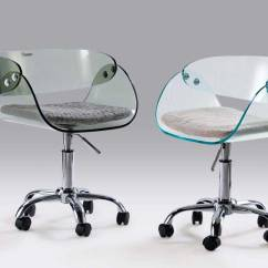 Clear Desk Chairs High Chair 3 In 1 Office Gaming Furniture