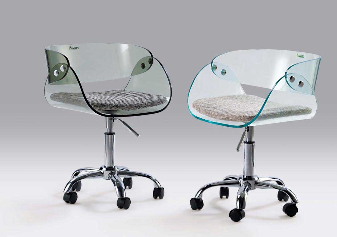Glass Chair Office Gaming Chairs Office Furniture