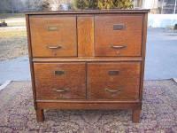 Antique File Cabinet for Vintage Home Office