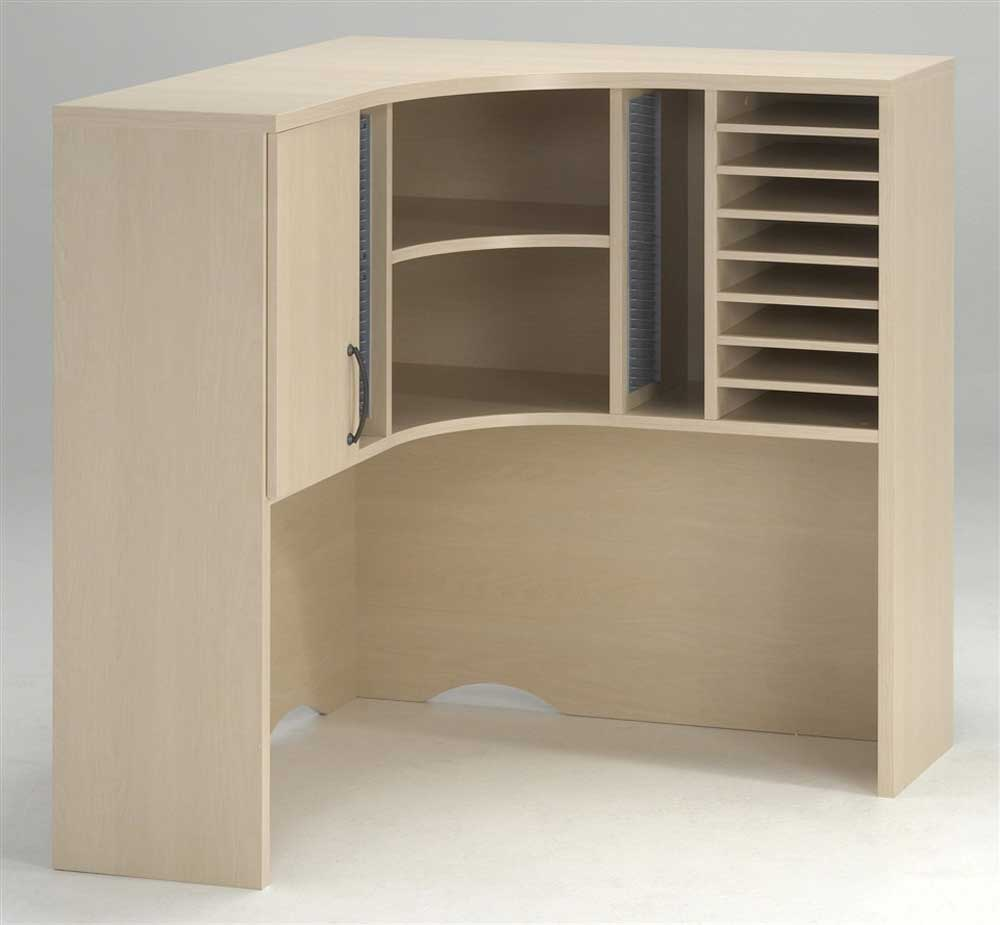 Corner Hutch Desk for Home Office