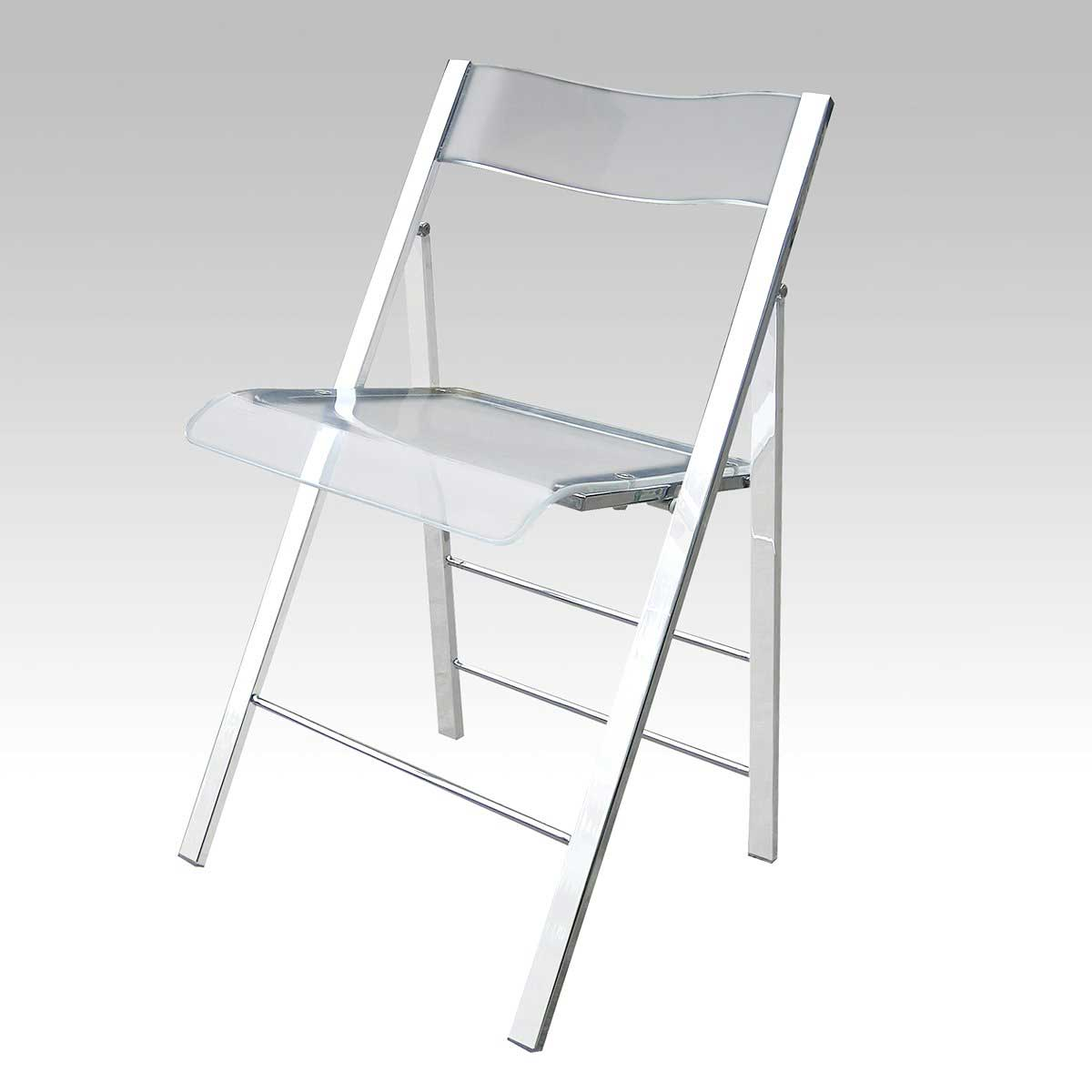 Lucite Folding Chairs Transparent Chairs Office Furniture