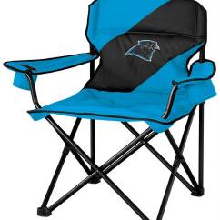 Carolina Panthers Folding Chairs Lawn For Heavy People Chair