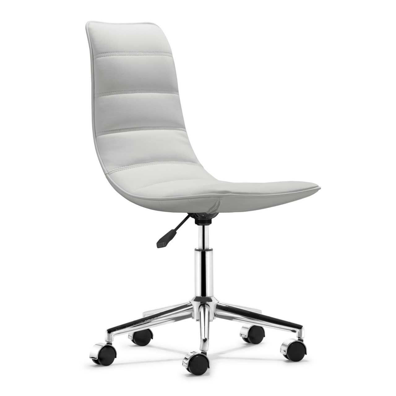 desk chairs white zippered chair covers office design and style
