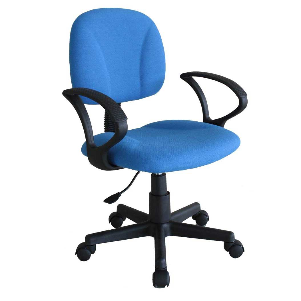 desk chair blue swing name cheap task chairs for home office equipment