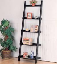 PDF DIY Leaning Ladder Bookshelf Plans Download log home ...