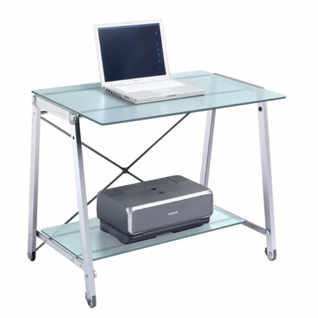 Tempered Glass Desk Design and Style