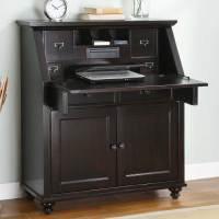 Untitled  Black Secretary Desk