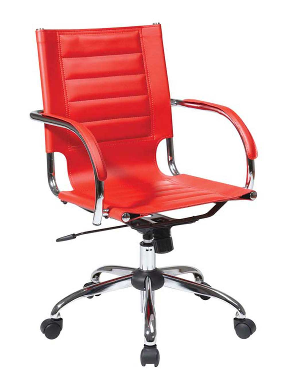 Red Office Chairs as Stunning Furnishing