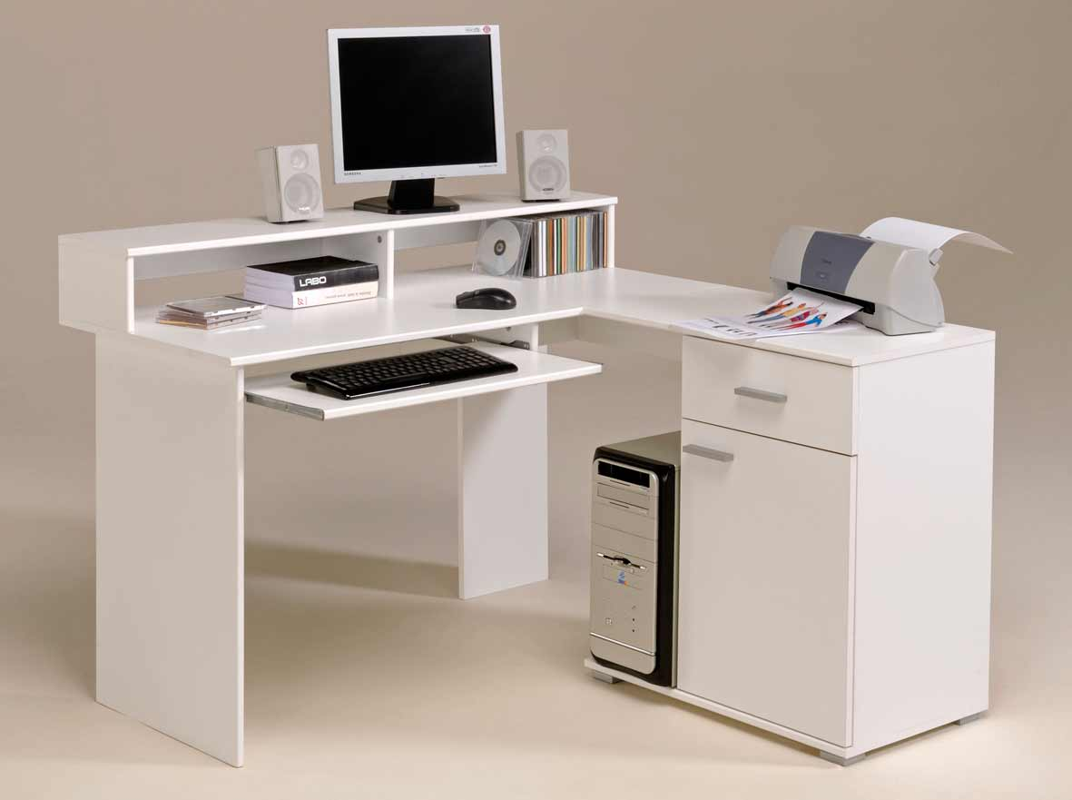 Small Corner Computer Desks
