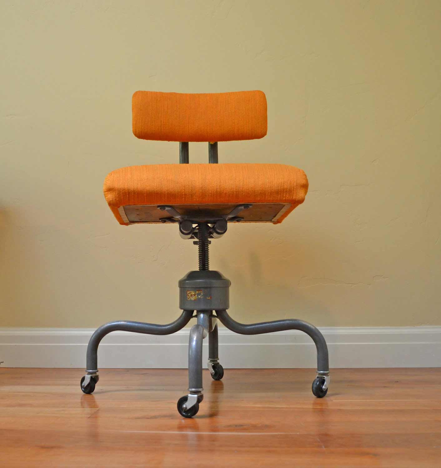 Retro Desk Chair Antique Rolling Desk Chair Office Furniture