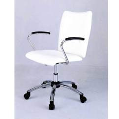 White Rolling Chair Wall Hugger Leather Recliner Chairs Desk Benefits