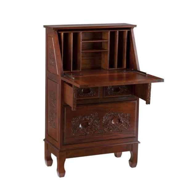 secretary desks with hutch. Drop Front ... - Secretary Desks With Hutch - Home Design Ideas