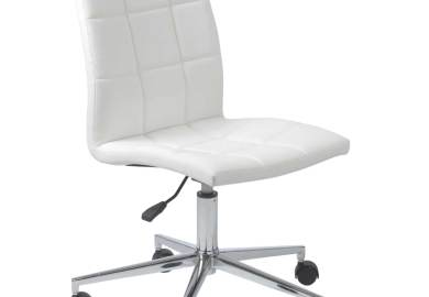 Modern Armless Desk Chair