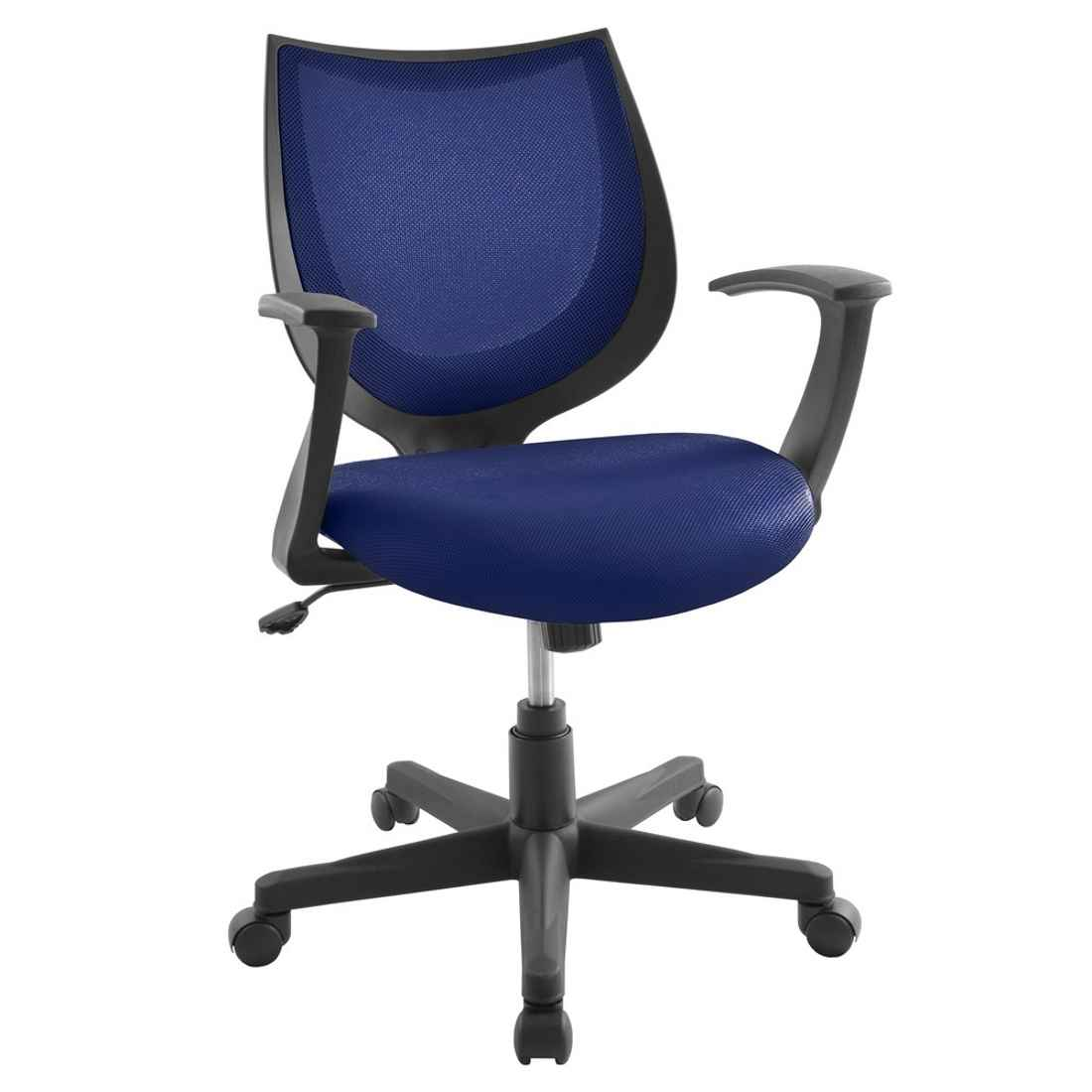 desk chairs office chair mesh blue for home