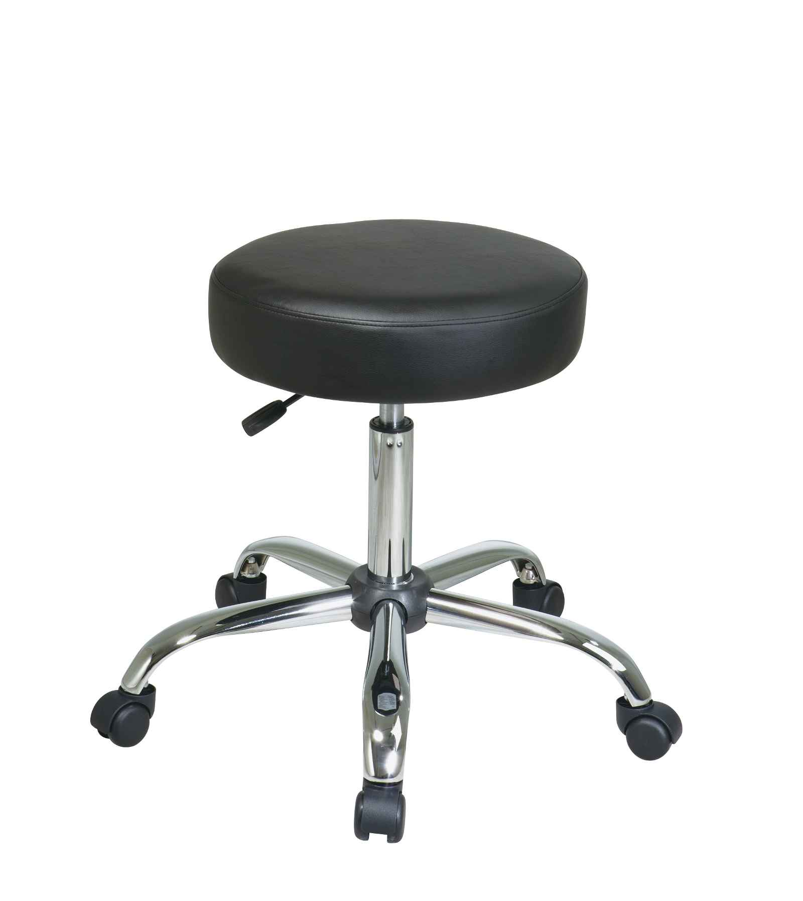 Pneumatic Chair Leather Drafting Chair Stool For Extra Comfort
