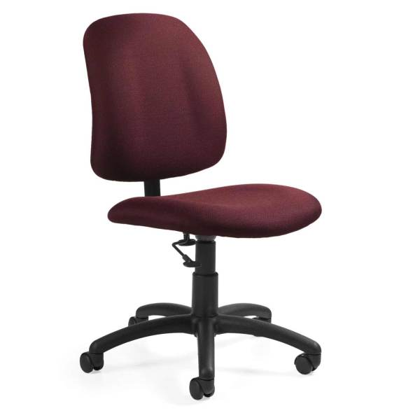Office Armless Desk Chairs