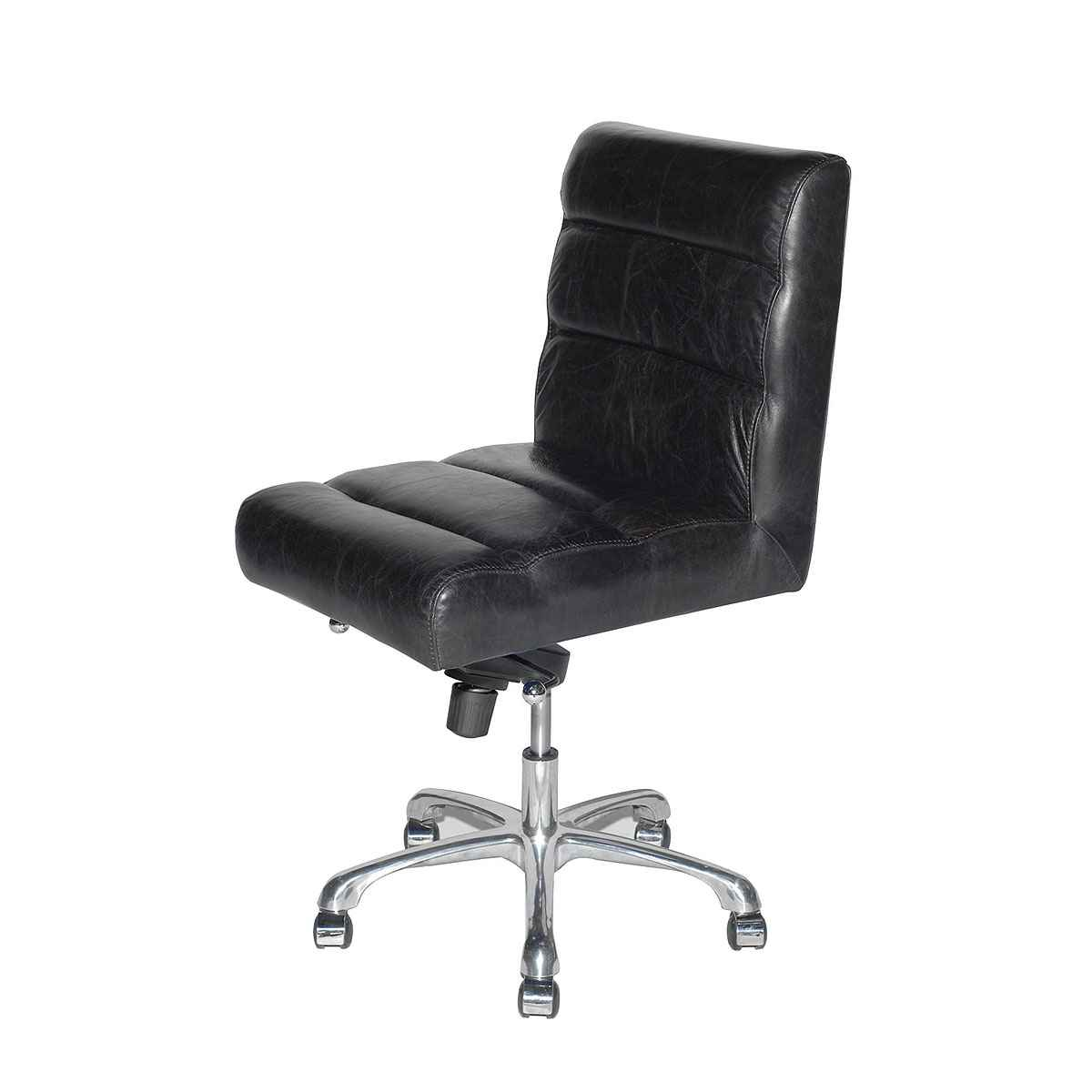 Black Desk Chair Leather Office Chair Office Furniture