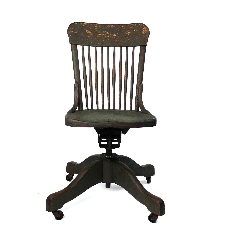 Desk Chairs Antique  Room Ornament