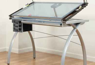 Glass Architect Drafting Table