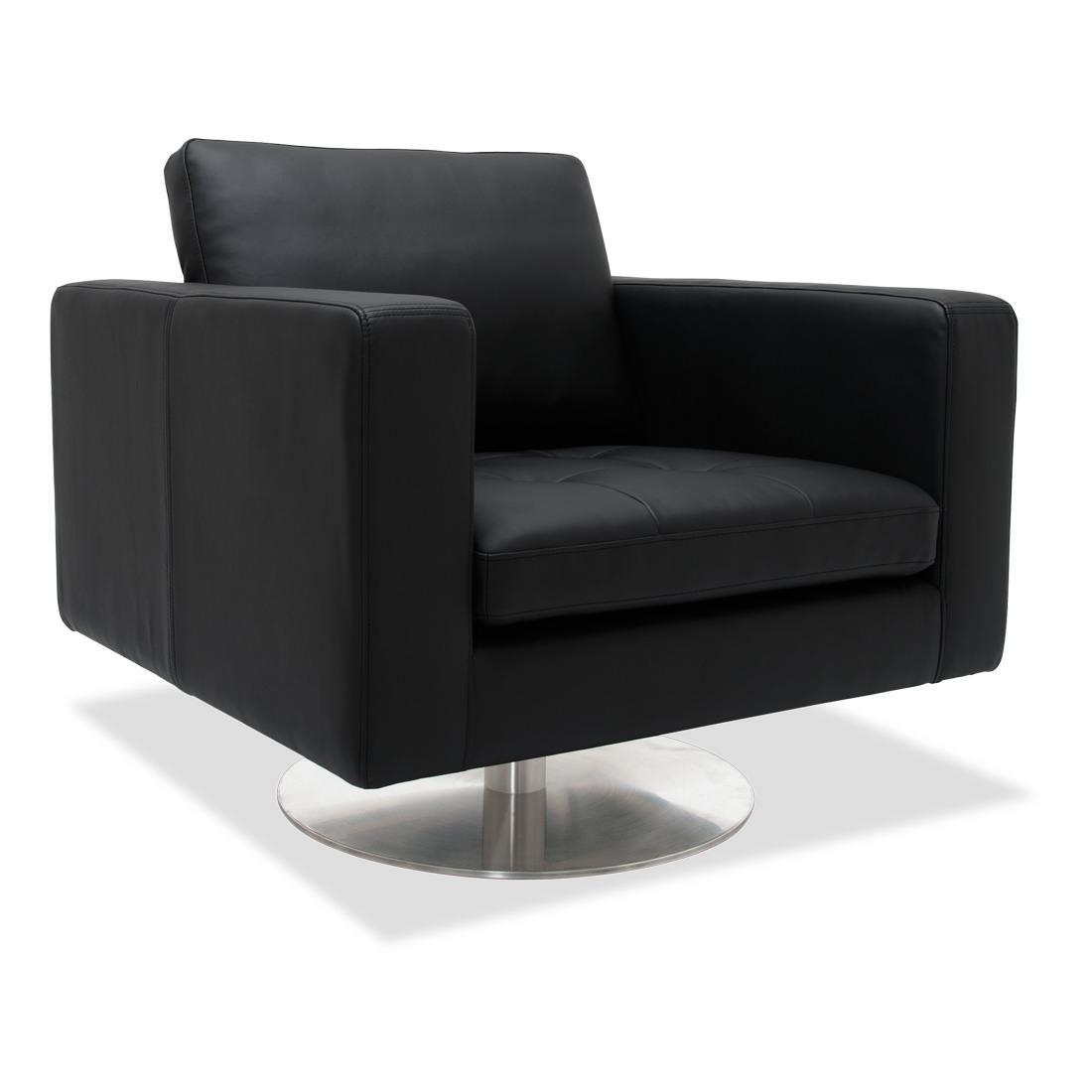 revolving easy chair card table and padded chairs swivel leather armchair for comfort beauty