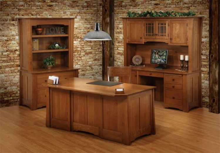 solid wood executive office furniture  Office Furniture