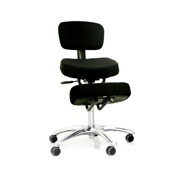 ergonomic chair pros simply elegant covers and linens kneeling posture office detail