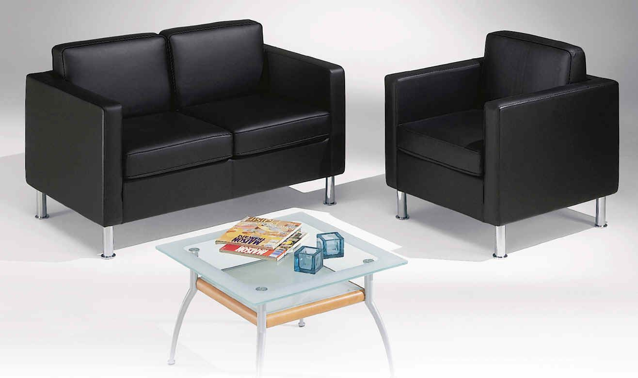 black leather reception chairs revolving chair online flipkart modern with simple yet attractive design