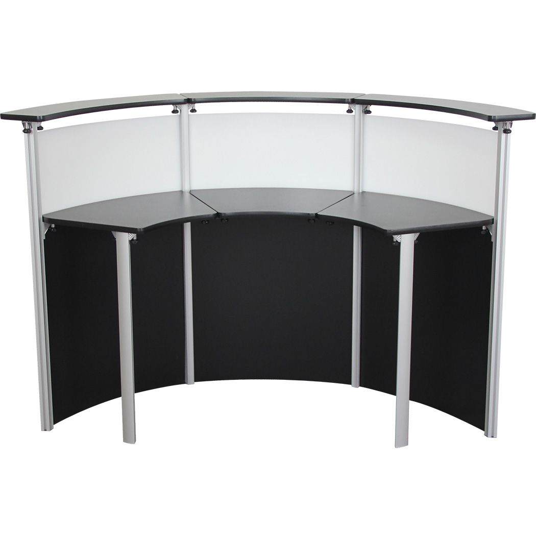 Half Circle Reception Desk  Office Furniture
