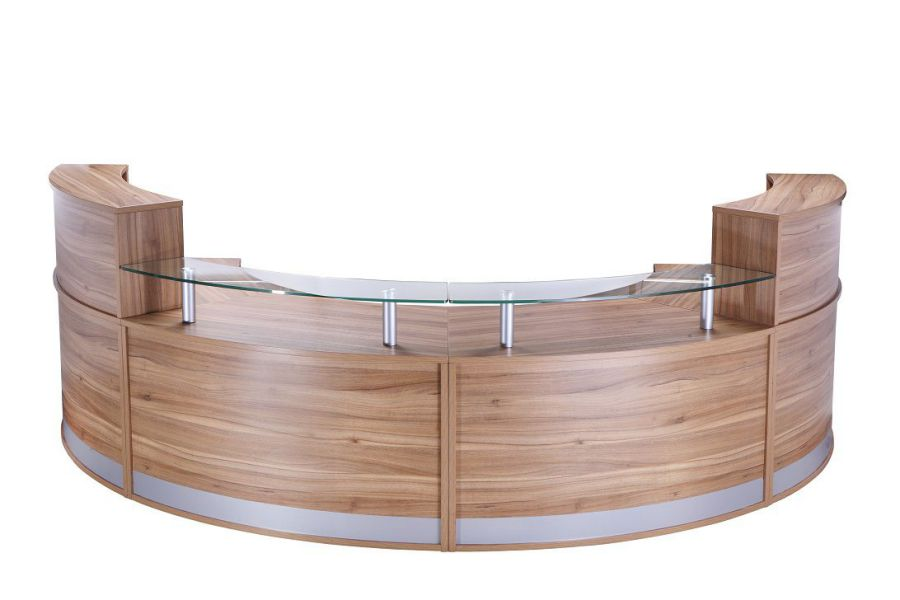 Circular Reception Desk Lobby  Office Furniture
