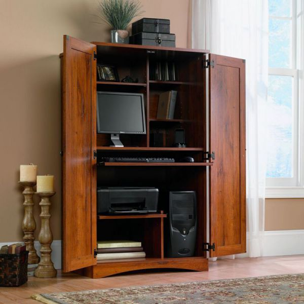 Hide Away Desk Armoire  Best Home Renovation 2019 by