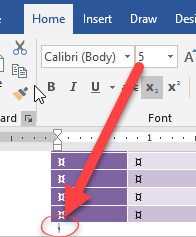 How To Add A Blank Page In Word : blank, Preventing, Table, Overrun, Blank, Microsoft, Office, Watch