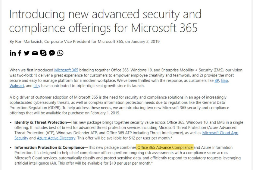 An exciting press release from Microsoft that contains an error.