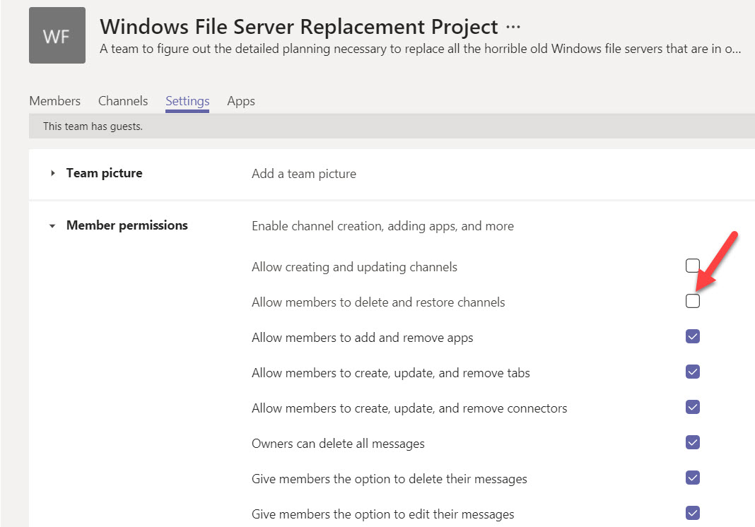 Why Teams Doesn't Delete the SharePoint Folder When Removing