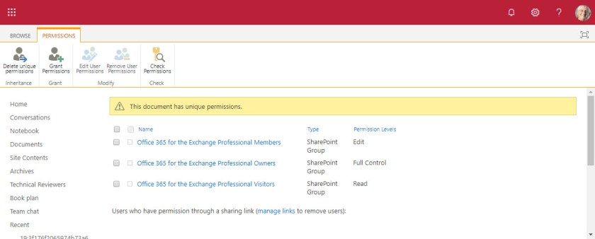Managing SharePoint Site Permissions the Old-Fashioned Way
