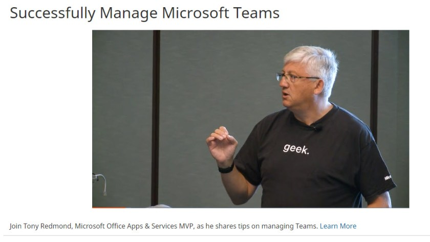 """The video of """"Managing Teams Successfully"""" from the Quest web site"""