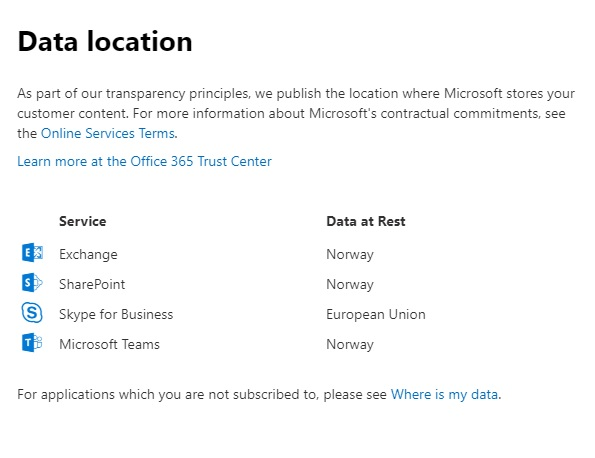 Norway gets Office 365