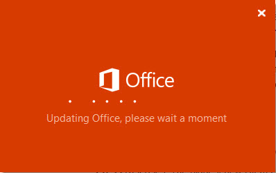Updating Office applications
