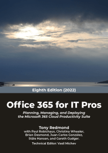 Office 365 for IT Pros 2022 Edition